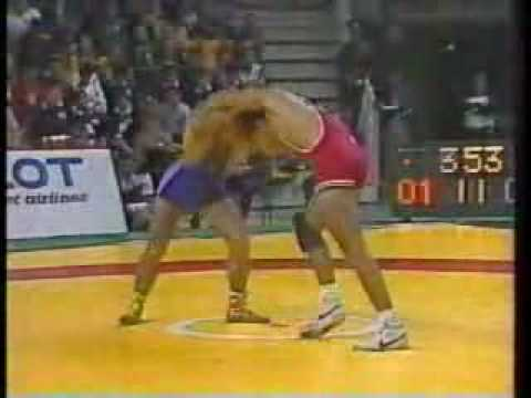 John Smith v. Khaser Isaev 1986 Goodwill Games