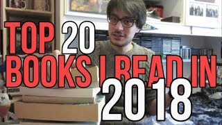 Top 20 Books I Read in 2018