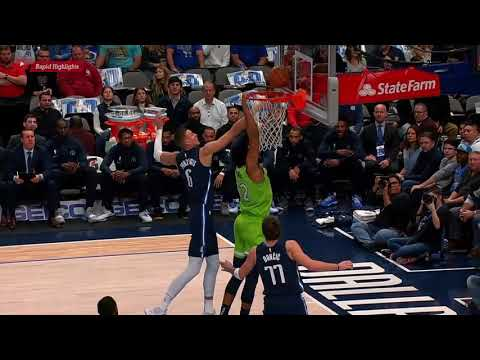 Minnesota Timberwolves Vs Dallas Mavericks - 1st Qtr Highlights | December 4, 2019 | NBA 2019-20