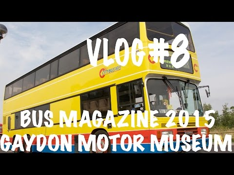 Video Diaries #8 - Bus Magazine at Gaydon Motor Museum 2015 - A Lovely Suprise Back At The Depot