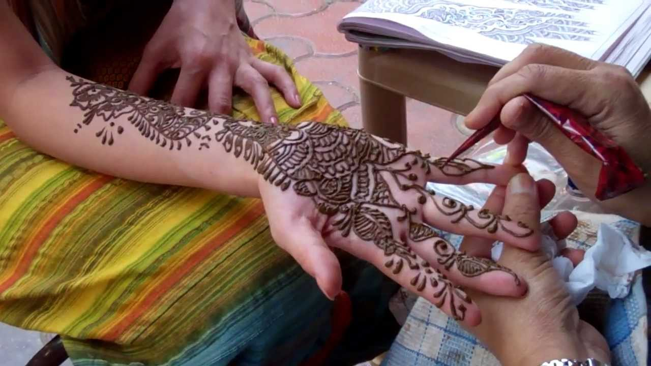 Indian Henna Tattoos Full Body: Henna Tattoo In India