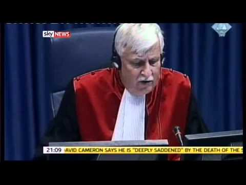 Ratko Mladic thrown out of his own trial