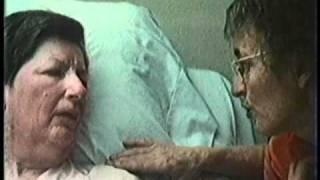 Elisabeth Kubler-Ross - Speaks to a dying patient, Nova Interview, 1983