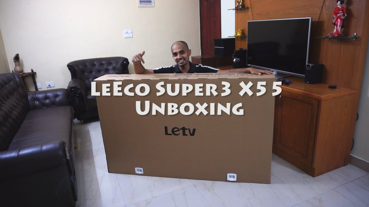 LeEco Super3 X55 4K TV - Live in your Living room - Review