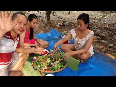 Gà Hấp Mía Cực Ngon / Khoa Nguyễn Vlog