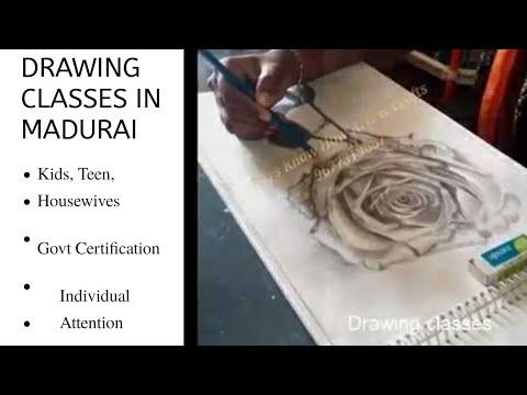 Drawing classes in madurai