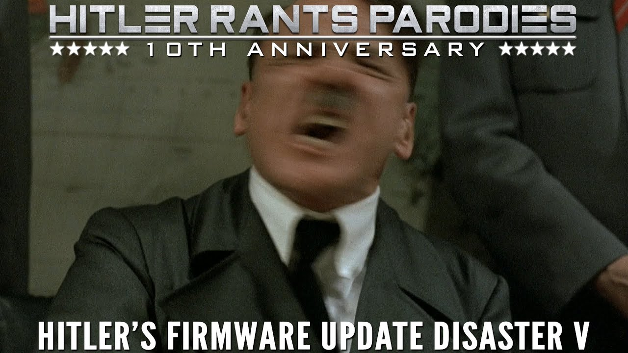 Hitler's firmware update disaster V