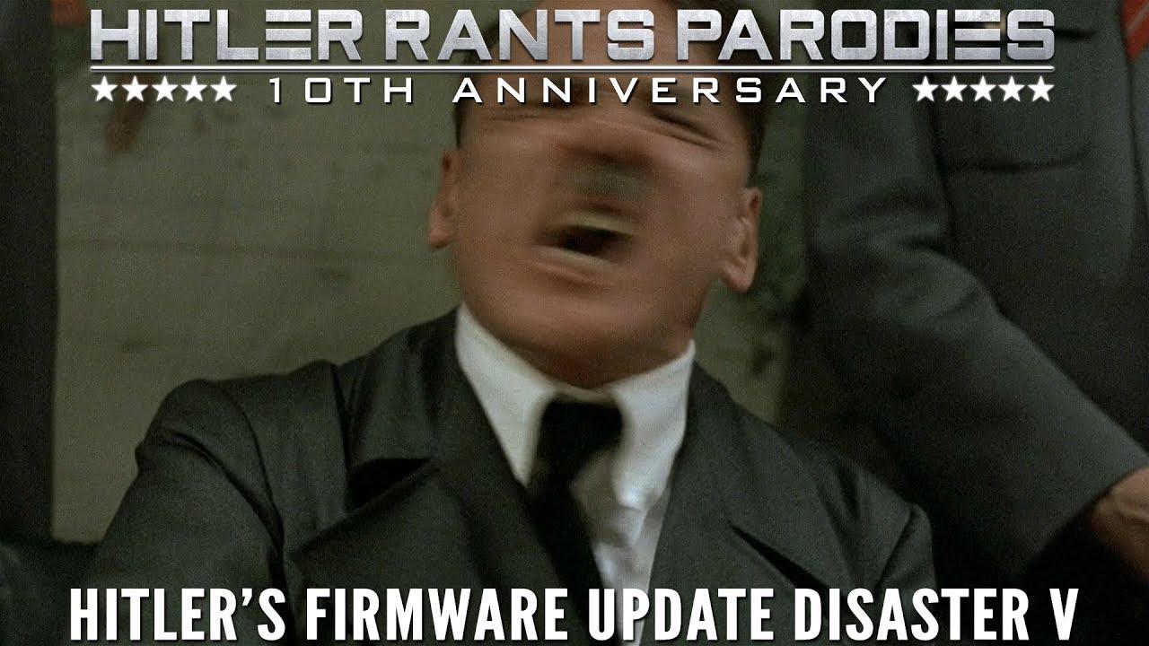 Hitler's firmware update disaster V