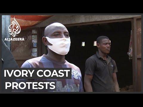Ivory Coast protests: Unrest disrupts economic activity