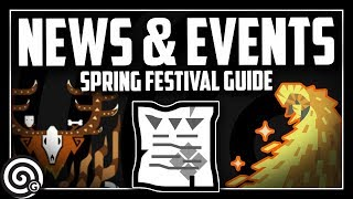 SPRING FESTIVAL Schedule & Event Quest Guide | Monster Hunter World