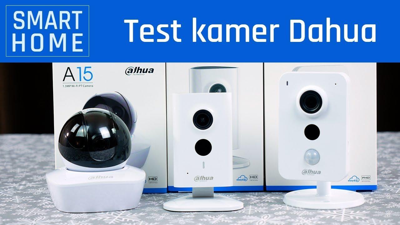 SMART DOM   Test kamer Dahua