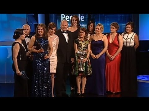 Irish Women's Rugby Team | People of the Year Awards 2013