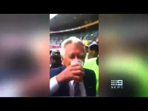 That's no VB, Albo! Watch as Labor frontbencher Anthony Albanese skols hipster craft beer to roars