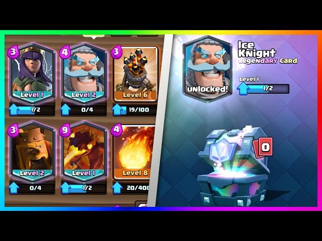 Clash Royale New Card Update Ideas Ice Knight Hero