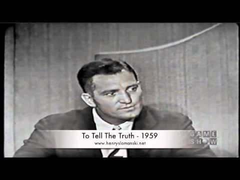 Henry Slomanski Command Sgt. Major Commissioner of Karate  To Tell the Truth 1959