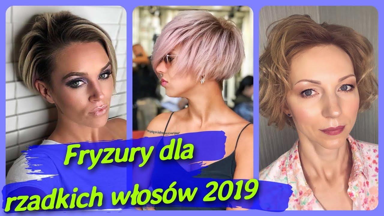 Top 20 Najlepszy Damskie Fryzury Dla Rzadkich Wlosow 2019 Youtube