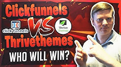 Clickfunnels Vs Thrivethemes - What Is The Best Funnel & Landing Page Software?