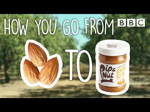 How is almond butter ACTUALLY made? BBC