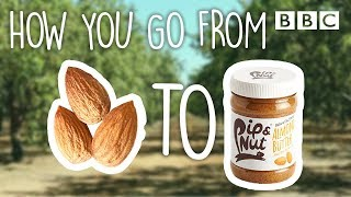 How is almond butter ACTUALLY made? - BBC