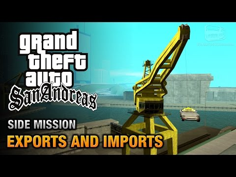 GTA San Andreas - Exports And Imports [A Legitimate Business Trophy / Achievement]