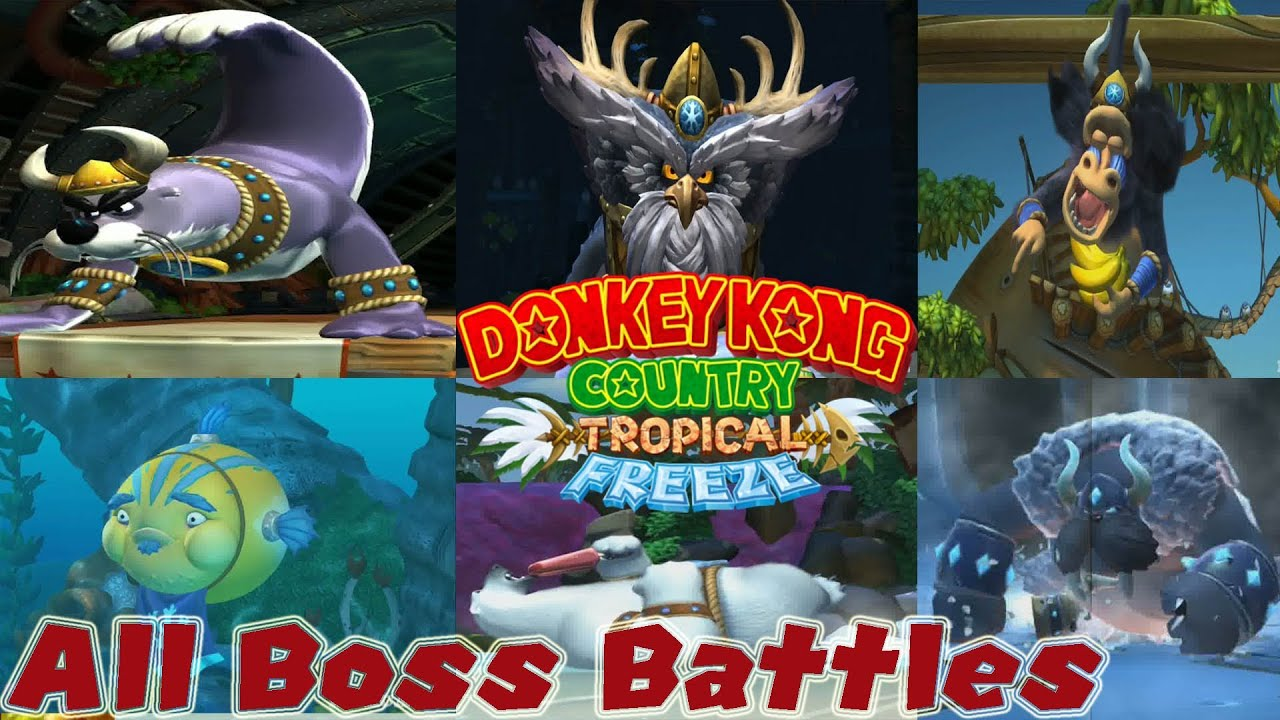 Donkey kong country bosses - photo#5