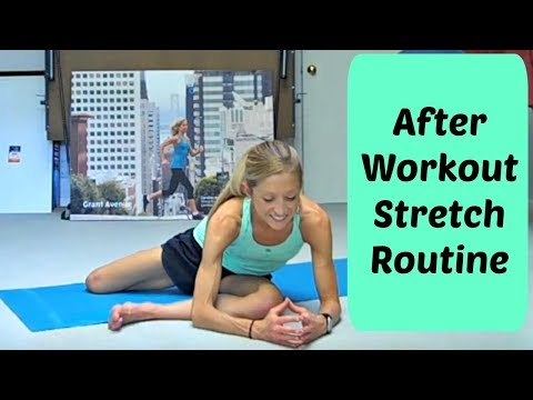 After Workout Stretch Routine. 12 Minutes of the Best Stretches To Do After Exercise.