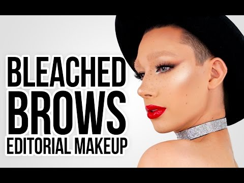 BLEACH BROWS SMOKEY LINER CHIT CHAT GET READY WITH ME