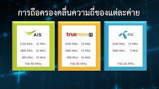 DTAC-AIS ชนะประมูลคลื่น 1800 MHz ได้คนละ 1 ใบ เคาะเพิ่มแค่ 25 ล้าน