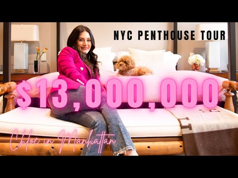 TOUR a $13,000,000 NYC Apartment - What a life of luxury! (Mindblowing Apartment Tour)