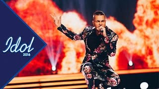 Liam Cacatian Thomassen - Playing with fire | Idol 2016 - Idol Sverige 2016 (TV4)