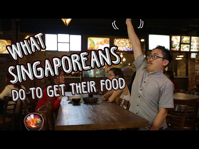 What Singaporeans Will Do To Get Food | TSL Comedy | EP 18