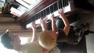 Tom Tom & Uncle Drew playing the piano