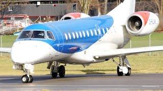 FIRST VISIT - BMI Regional Embraer ERJ-135 Take-Off at Bern Airport