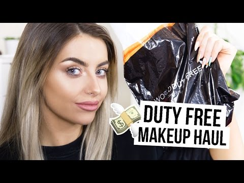 DUTY FREE MAKEUP HAUL I COCOCHIC