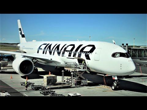 Full flight | Finnair AY1332 London LHR ✈ HEL Helsinki on Airbus A350-941 (OH-LWO)