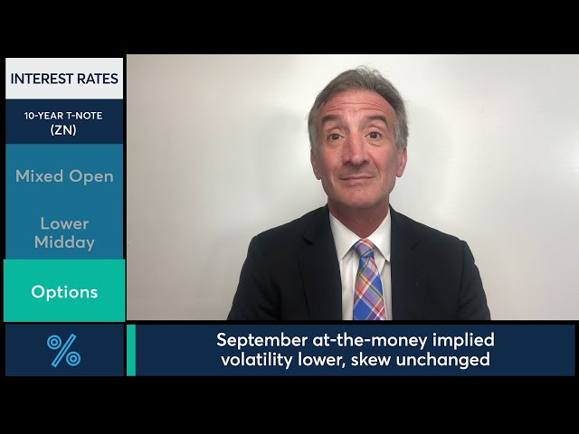 July 29 Bonds Commentary: Larry Shover