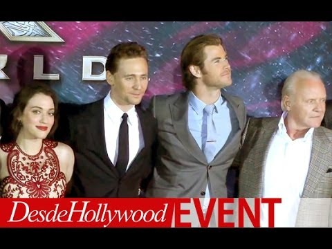 Thor: The Dark World Cast Presentation (Hollywood Premiere - Exclusive)