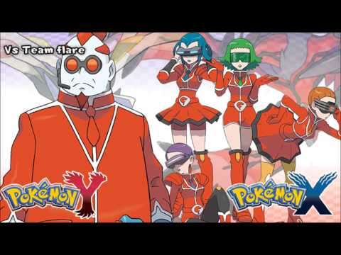 Pokemon X/Y - Vs Team Flare Music HD (Official)