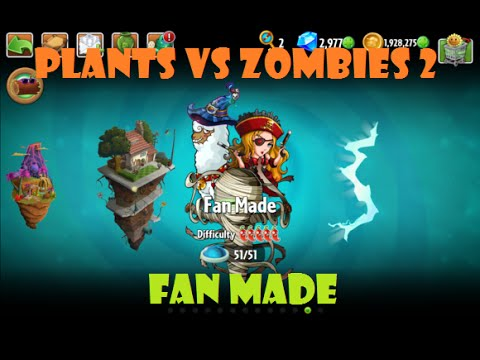 Plantas Vs Zombies 2 Mundo 12 Fan Made Apk Obb Youtube