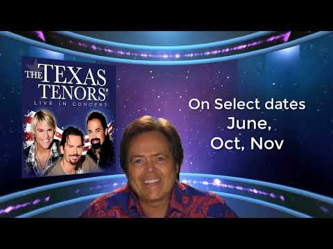 Texas Tenors - Andy Williams Performing Arts Center 2018