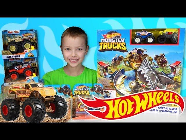 Hot Wheels Monster Trucks -  GO BIG! GO HOT WHEELS!
