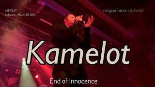 KAMELOT - End of Innocence @TRIX, Antwerp - March 10, 2019 LIVE 4K