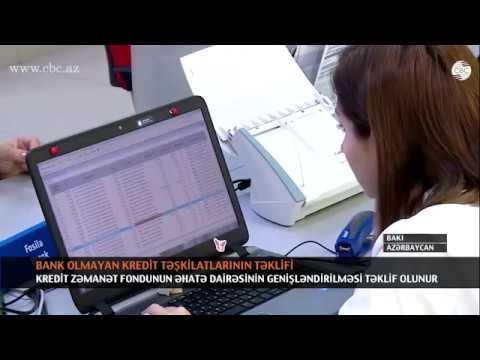 BANK OLMAYAN KREDİT TƏŞKİLATLARININ TƏKLİFİ