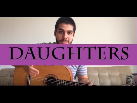 John Mayer - Daughters (VÍDEO-AULA)