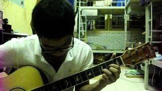 Nếu kém duyên vô phận - guitar cover-KTX đại học kiến trúc Hà Nôị