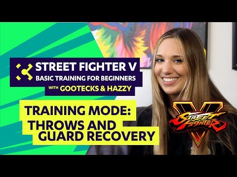 Street Fighter V Tutorial for Beginners ft. gootecks & Hazzy - Cross Counter Training #02