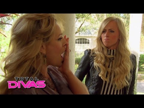 Summer Rae confronts Natalya at home: Total Divas, March 30, 2014