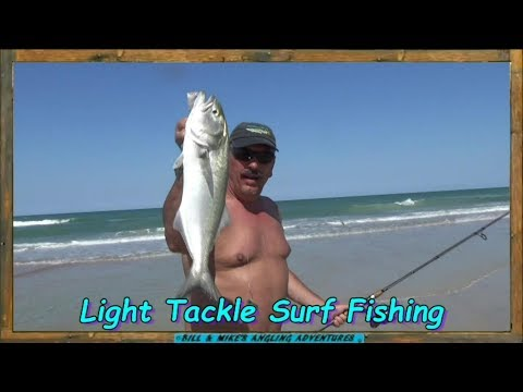 Light Tackle Surf Fishing Daytona Beach