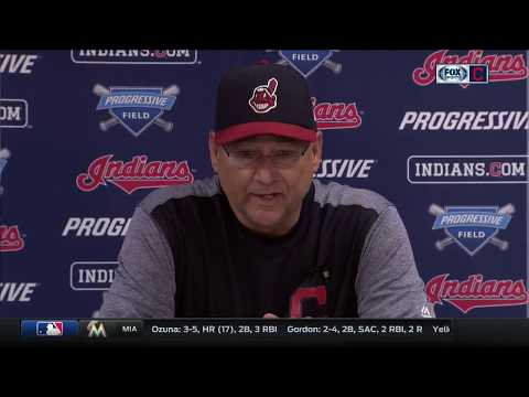 Cleveland Indians manager Terry Francona says team needs to pay attention to details & get moving