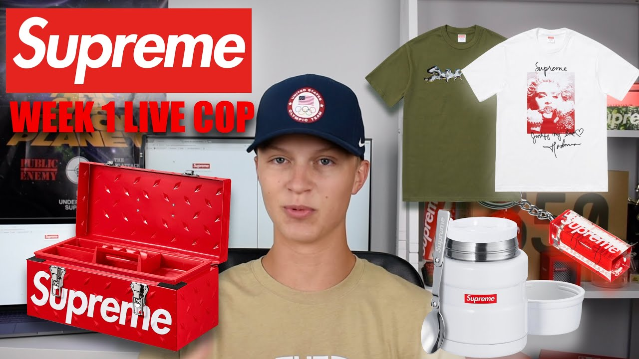 4777d4a5c SUPREME FW18 WEEK 1 LIVE COP. (Manual Checkout) I SPENT TOO MUCH ...